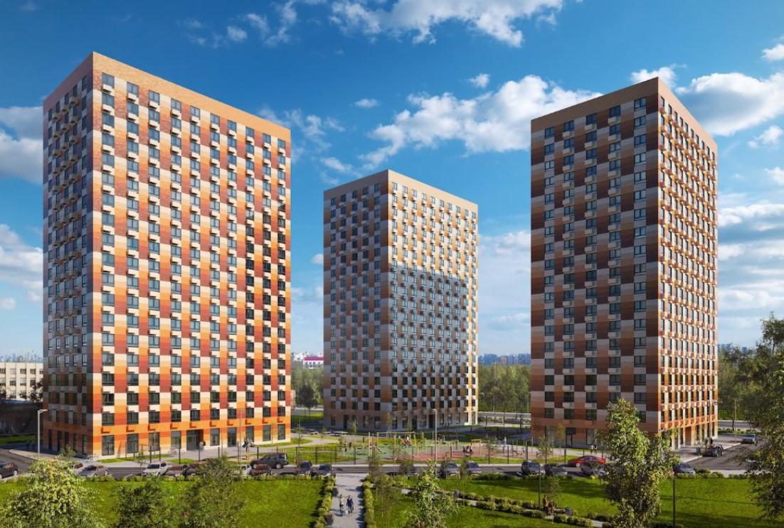 Началось строительство нового корпуса ЖК «Большая академическая 85»