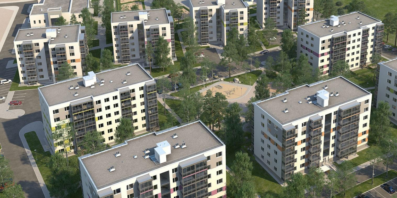 Вновом корпусе квартала «Gröna Lund» открылись продажи квартир
