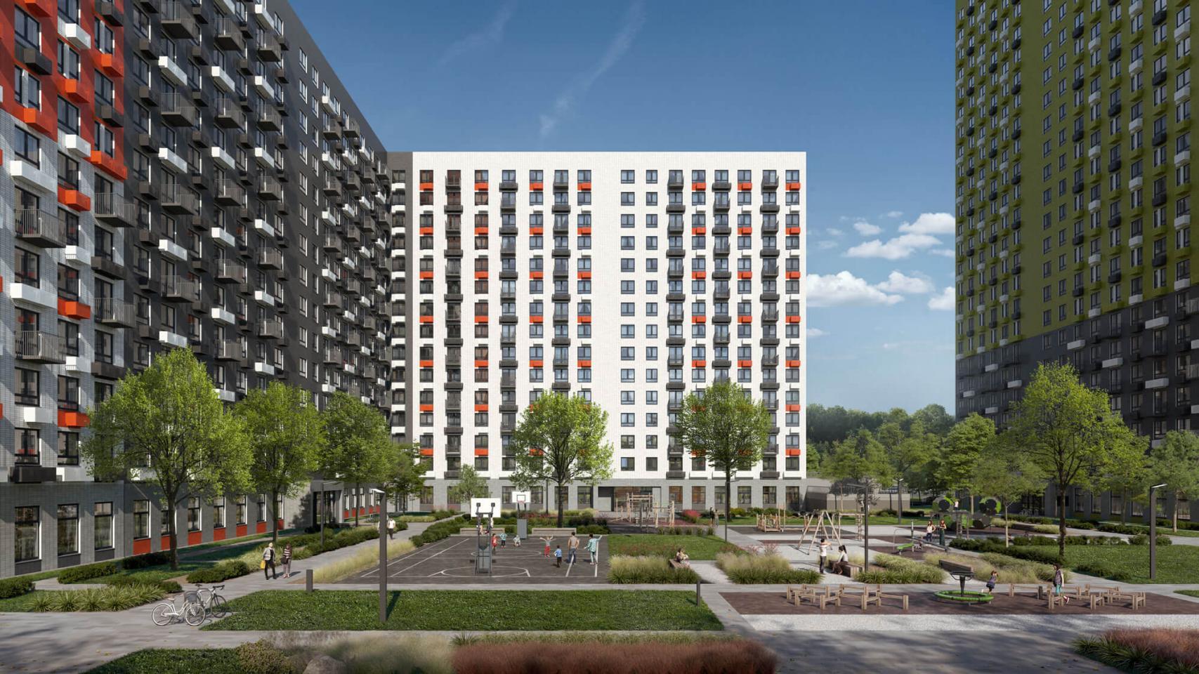 Вжилом районе «Саларьево парк» построят еще один корпус
