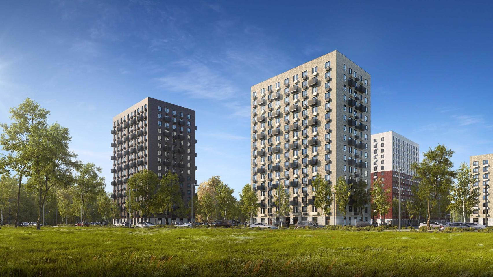 Открылись продажи квартир вновых корпусах «Саларьево парка»