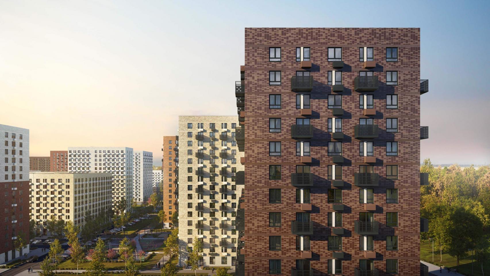 Вжилом районе «Саларьево парк» построят новый дом