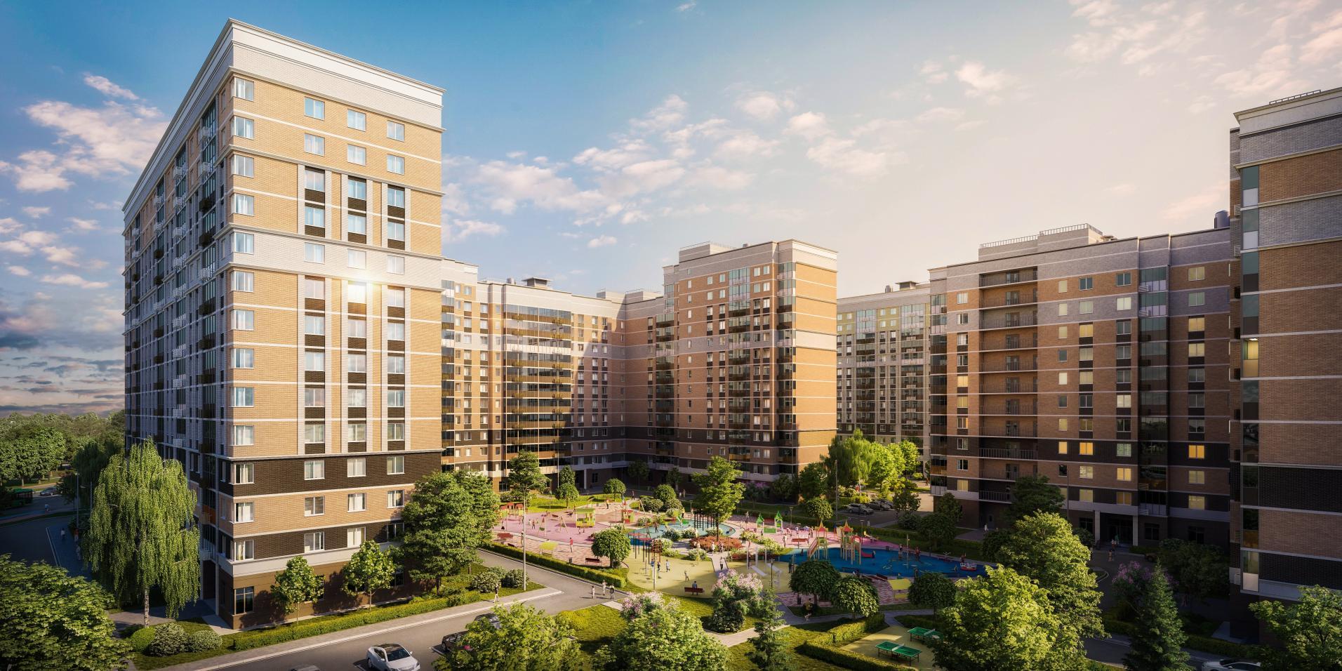 Получено разрешение на продажу квартир в новом корпусе ЖК «Остафьево»