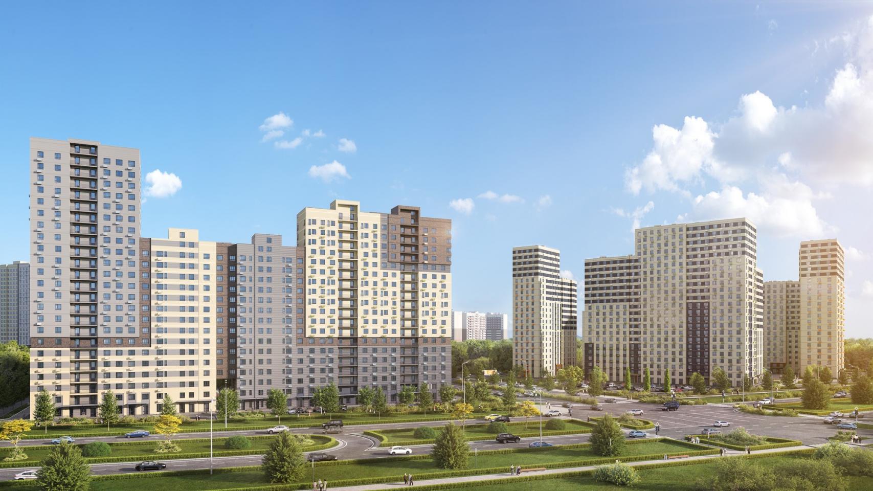 Вжилом комплексе «Квартал Некрасовка» открылись продажи квартир