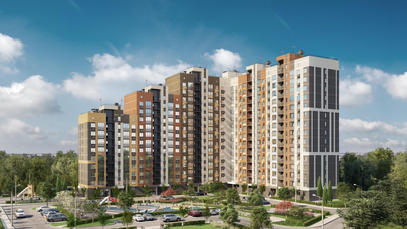 Группа «Самолет» открыла продажи квартир вновом корпусе ЖК«Пригород Лесное»