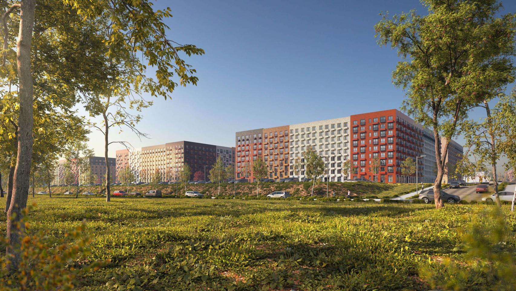 Вжилом комплексе «Середневский лес» построят два новых дома