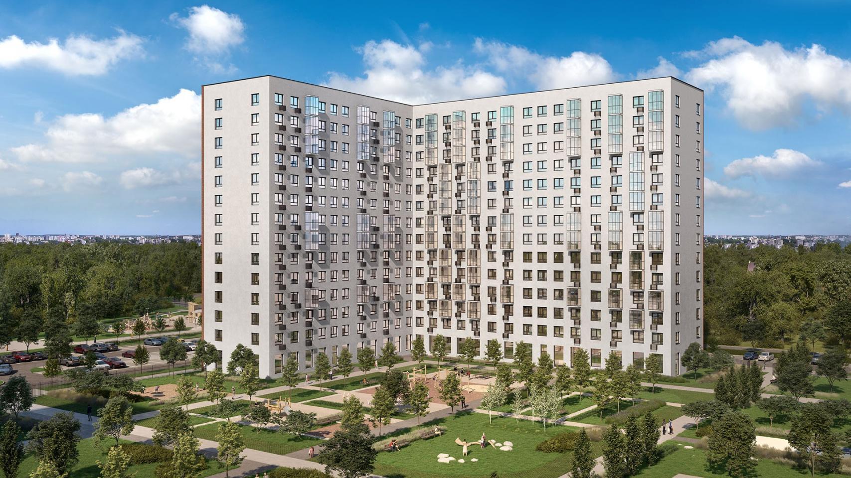 В двух корпусах ЖК «Новое Внуково» открылись продажи квартир