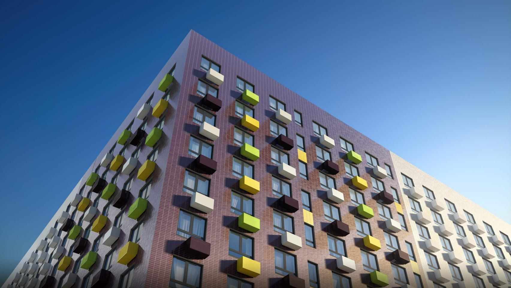 В жилом комплексе «Волжский парк» возведут еще 2 корпуса
