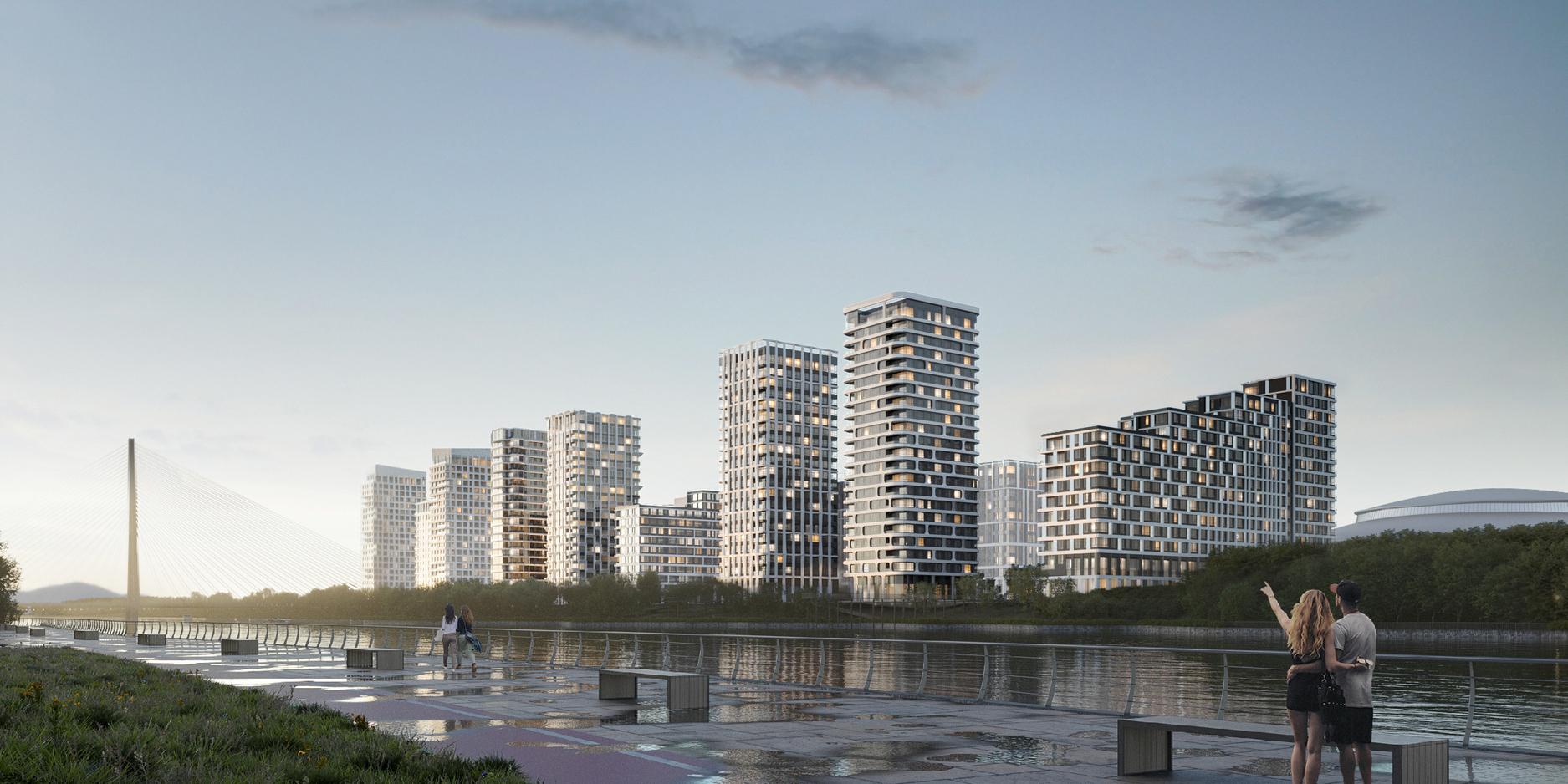 Москомархитектура согласовала проект жилого квартала вМнёвниковской пойме