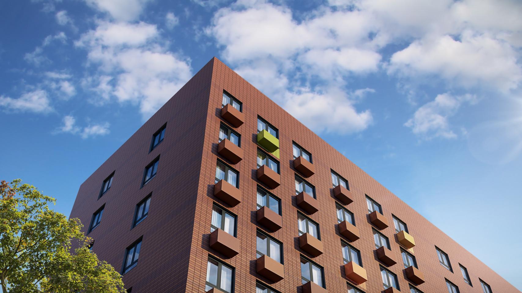 Нарынок выведены новые корпуса жилого района «Бунинские луга»