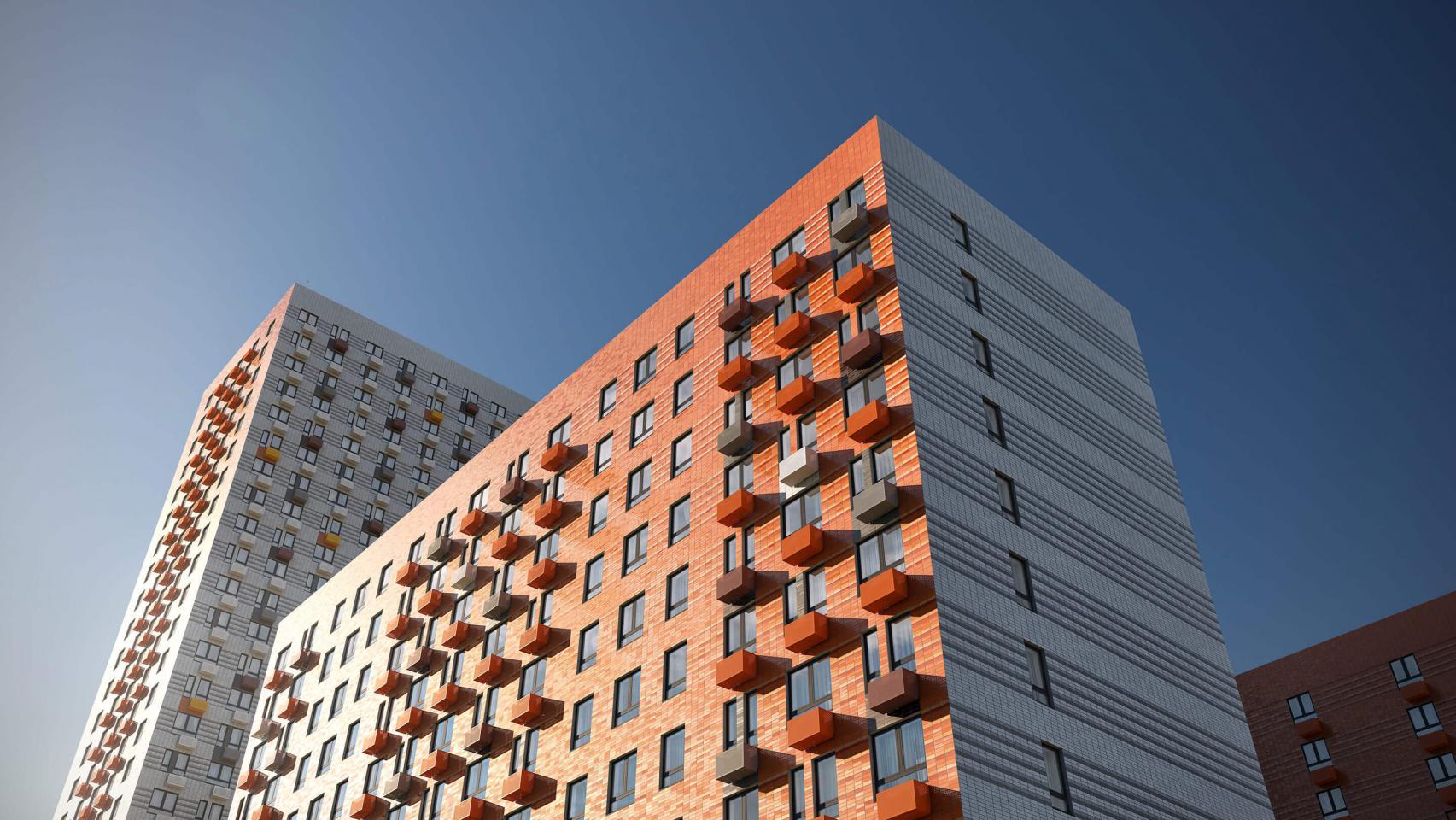 Вжилом комплексе «Амурский парк» построят новый корпус