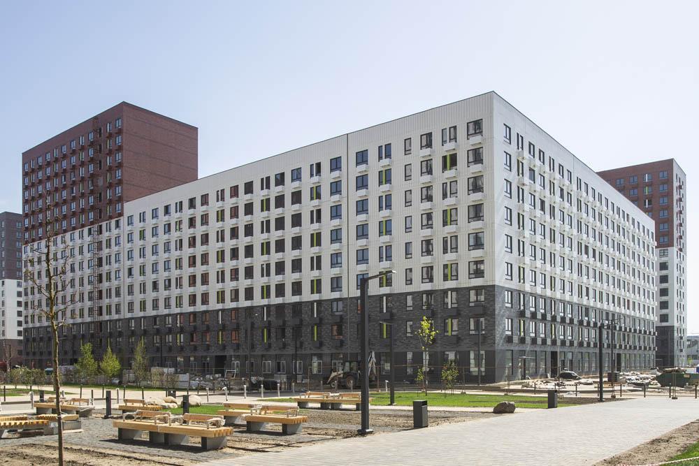 ВНовой Москве построен многоэтажный дом на674 квартиры