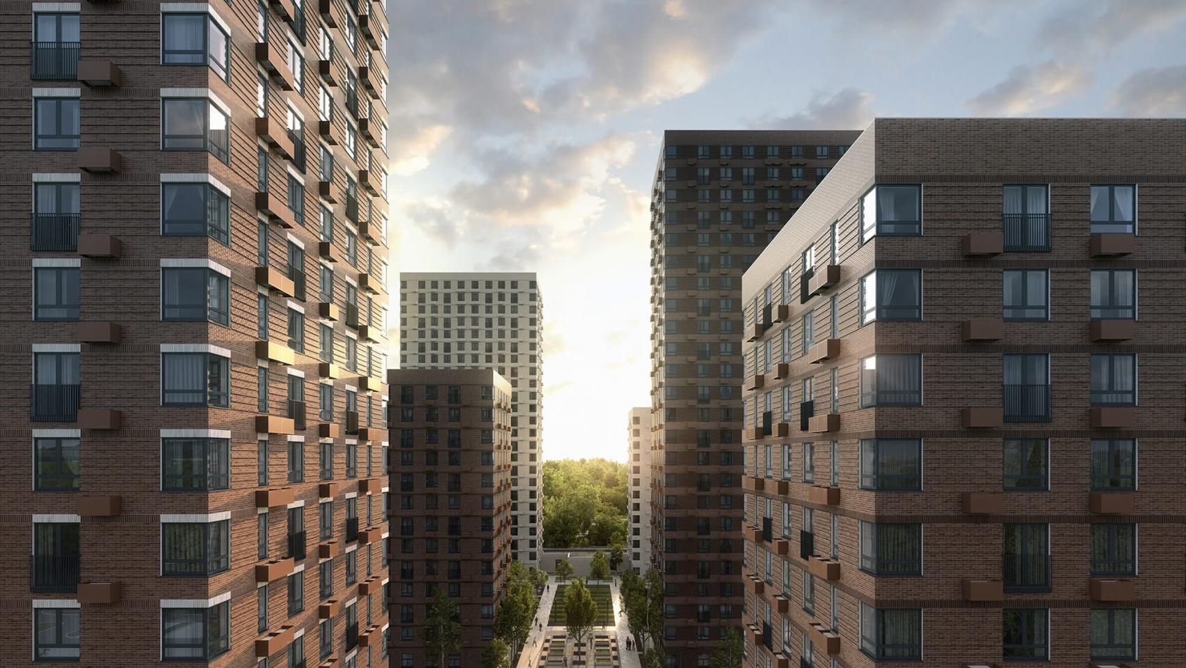 Вжилом комплексе «Holland park» открылись продажи квартир
