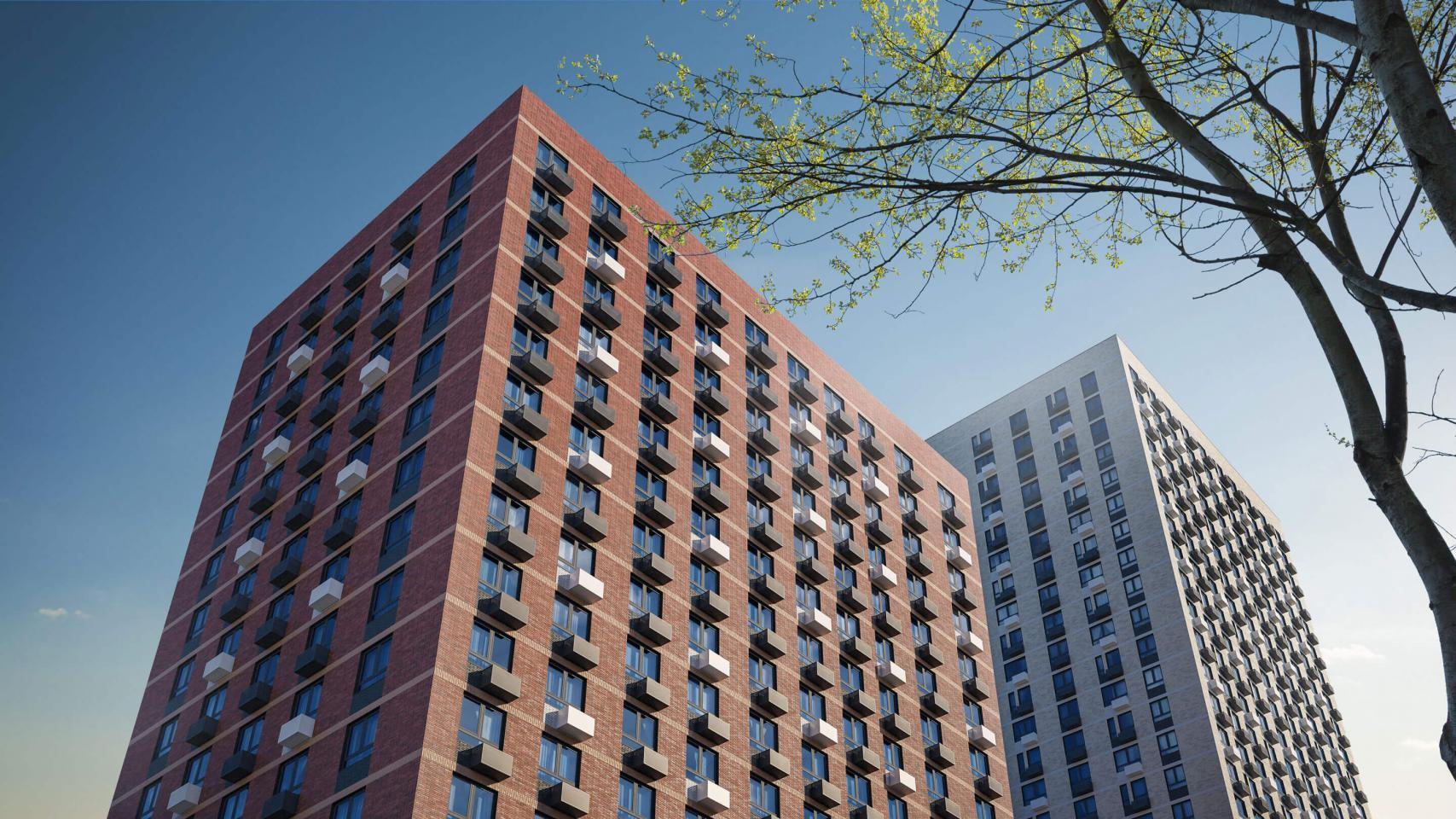 В жилом комплексе «Мичуринский парк» появится два новых корпуса