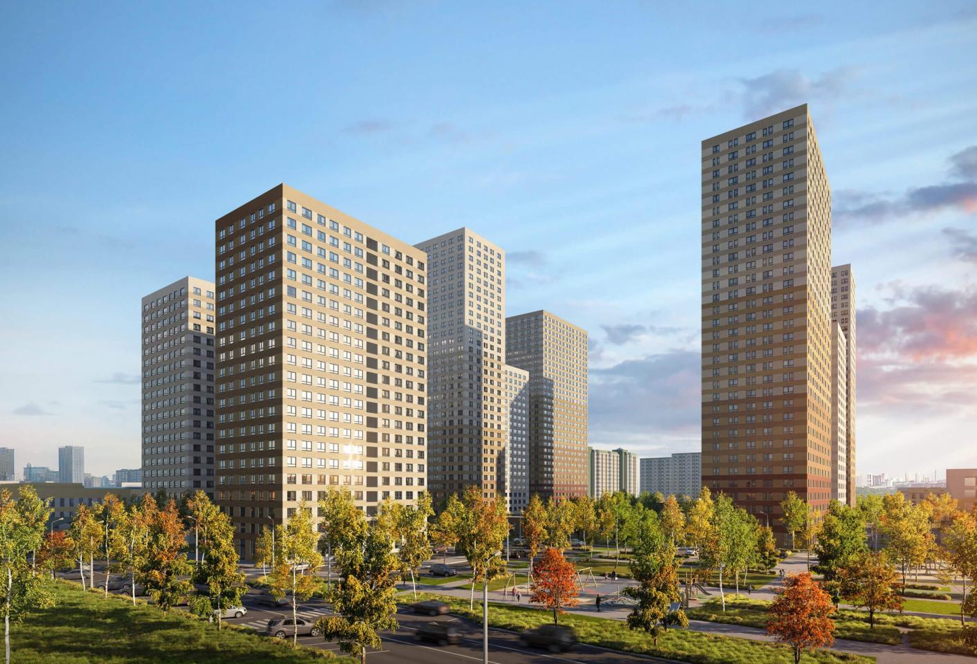 В новых корпусах ЖК «Кронштадтский 9» начались продажи квартир